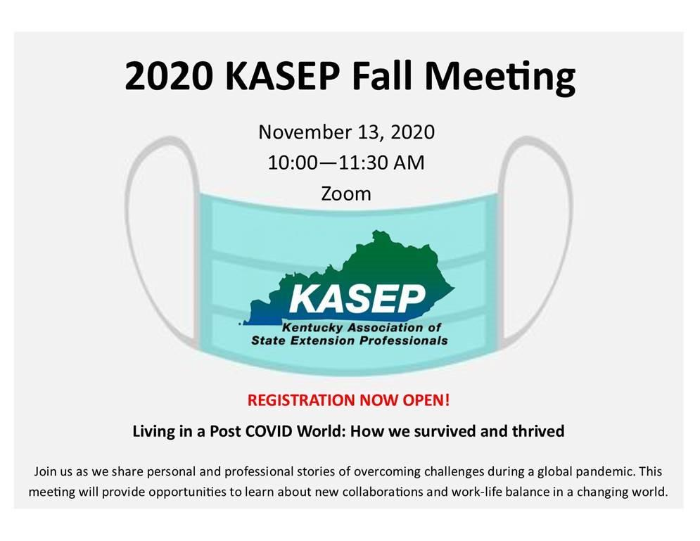 KASEP 2020 meeting announcement